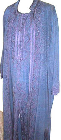 <b>Moiré Silk-Look Coat & Caftan</b>