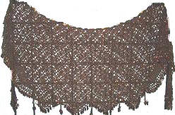 <b>Crochet Beaded Crescent</b>