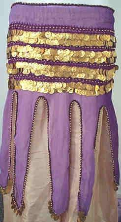 <b>Coin Mini Skirt Sash</b>