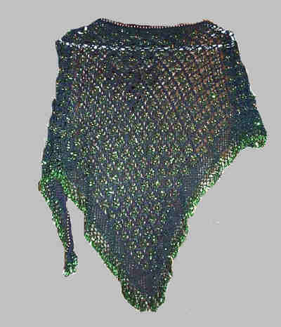 CROCHET BEADED HIP SCARF PATTERN Crochet Patterns Only