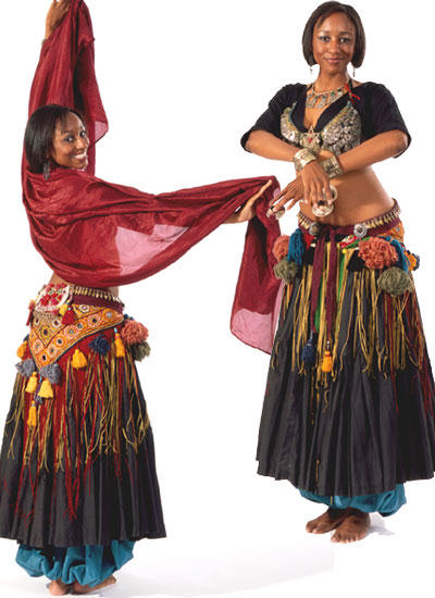 <b>F144 Tribal Style Belly Dancer</b>